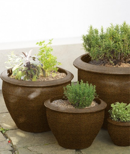 STRUKTURIERT - textured planter