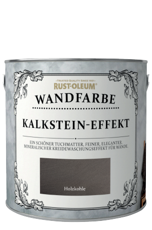 Rust-Oleum Kalkstein-Effekt Wandfarbe Holzkohle