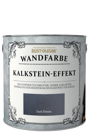 Rust-Oleum Kalkstein-Effekt Wandfarbe Dunkelblau