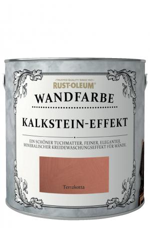 Rust-Oleum Kalkstein-Effekt Wandfarbe Terrakotta