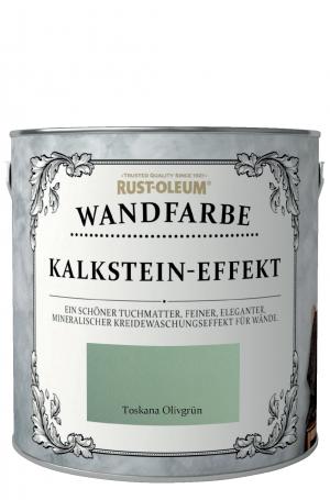 Rust-Oleum Kalkstein-Effekt Wandfarbe Olivegrün