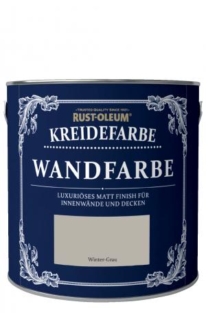 Rust-Oleum Kreidefarbe Wandfarbe Wintergrau