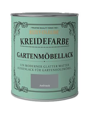 Rust-Oleum Kreidefarben Gartenfarbe Anthrazit