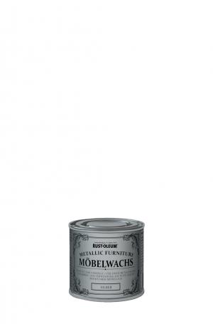 Rust-Oleum Möbelwachs Metallic Silber