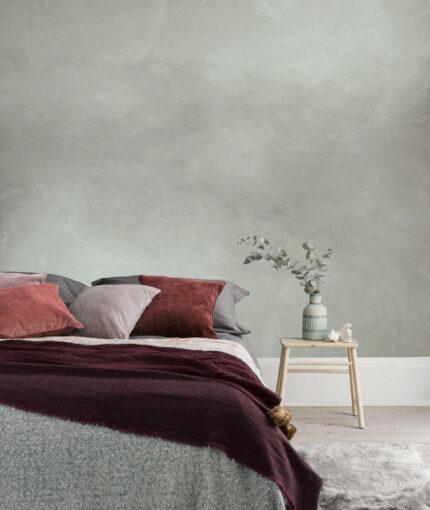 Wandfarbe Kalkstein-Effekt - Wandfarbe Kalkstein Effekt Heller Beton