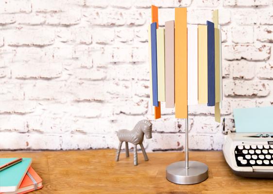 DIY: LAMPENSCHIRM-UPCYCLING