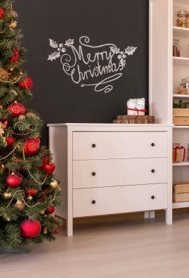 Weihnachtliche Ideen mit Tafellack