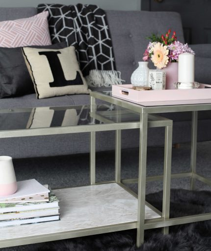 Goldweiß METALLIC (SPRÜHDOSE) - Metallic-White-Gold-Coffee-Table-430x510
